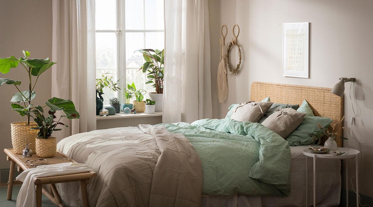 Красота зелени у вас в спальне