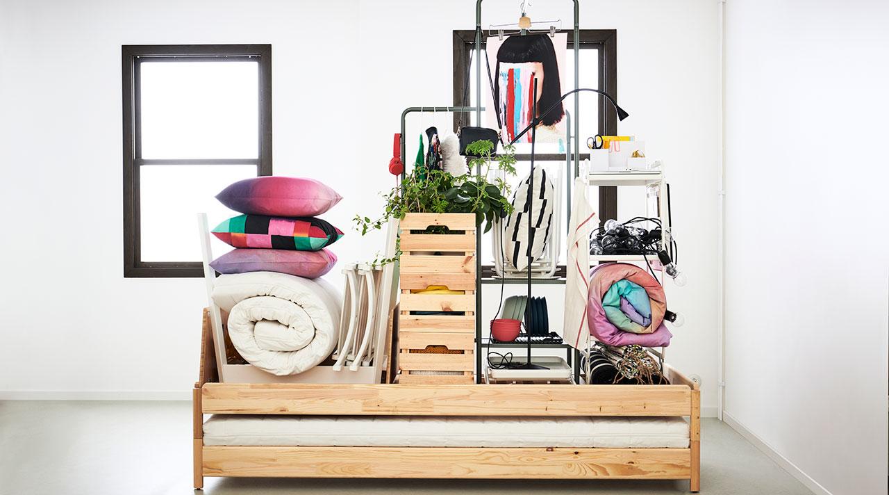 Jauns sākums ar IKEA. Kompakts mājoklis dinamiskai dzīvei