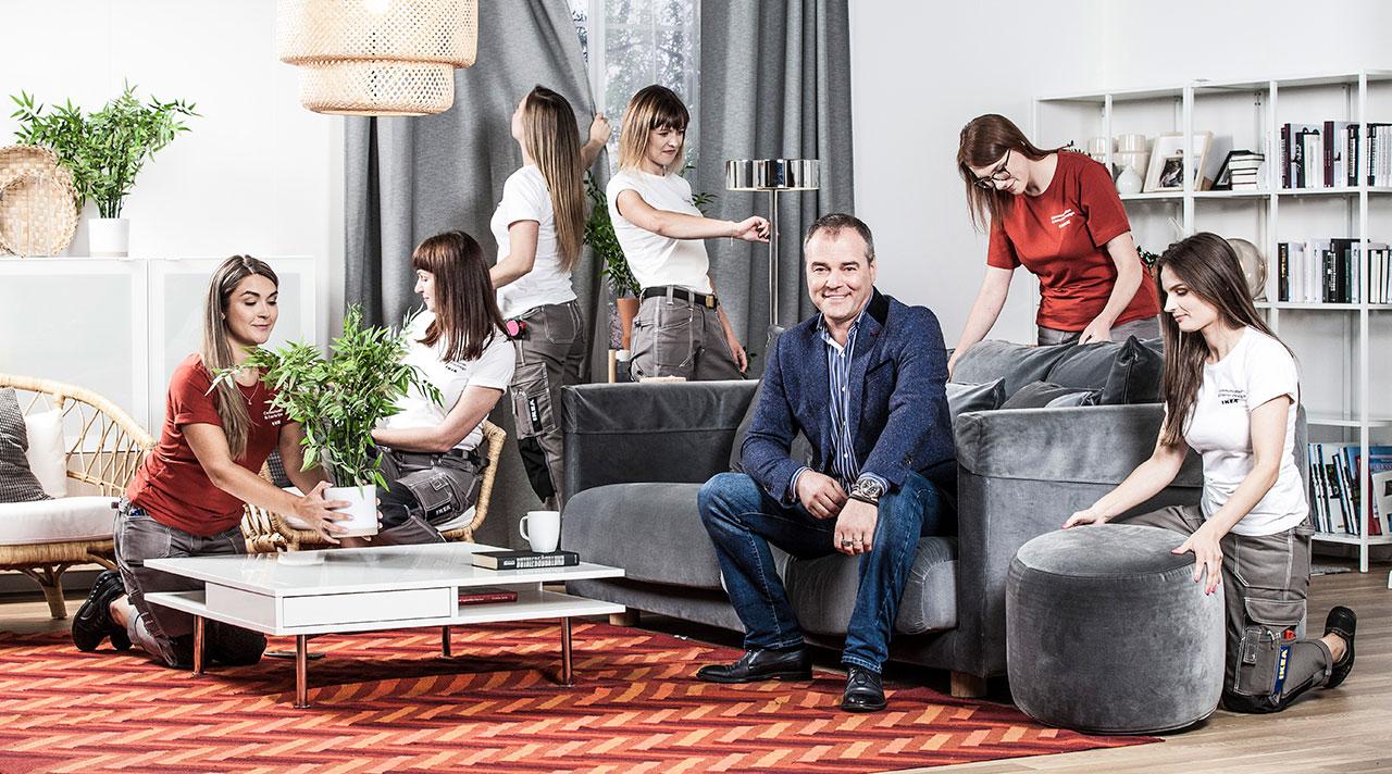 "New interior make-over TV programme ""Manas mājas ar IKEA""!"