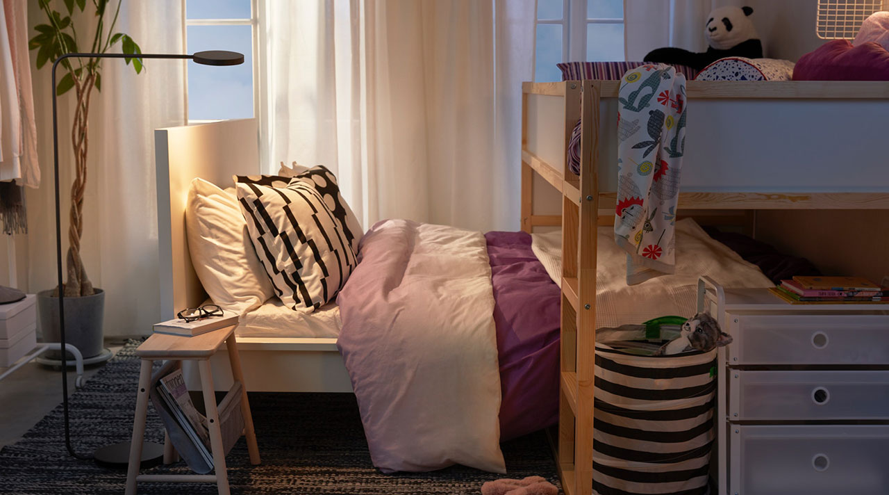 One bedroom for both kids and adults: solutions and inspiration