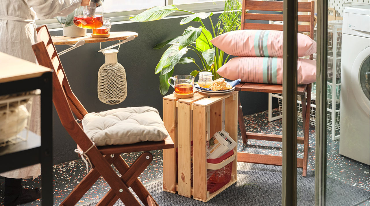 Transform your balcony into one more room!