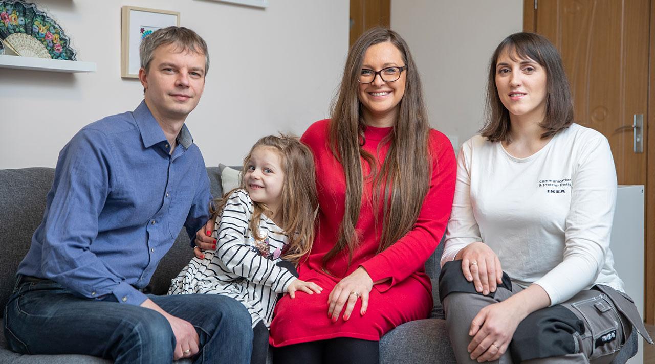 """""""Namų idėja su IKEA"""": nauja šeimos svetainė"""