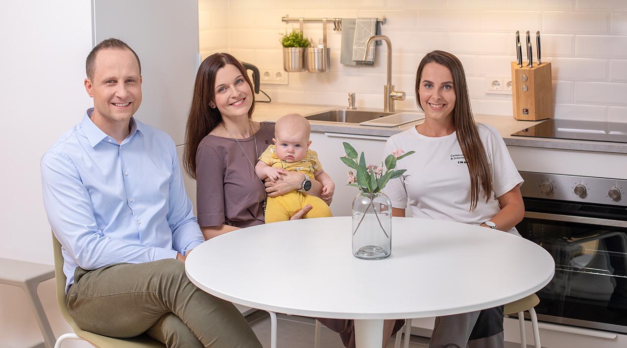"""""""Namų idėja su IKEA"""": nauja virtuvė šeimos pomėgiams ir poilsiui"""